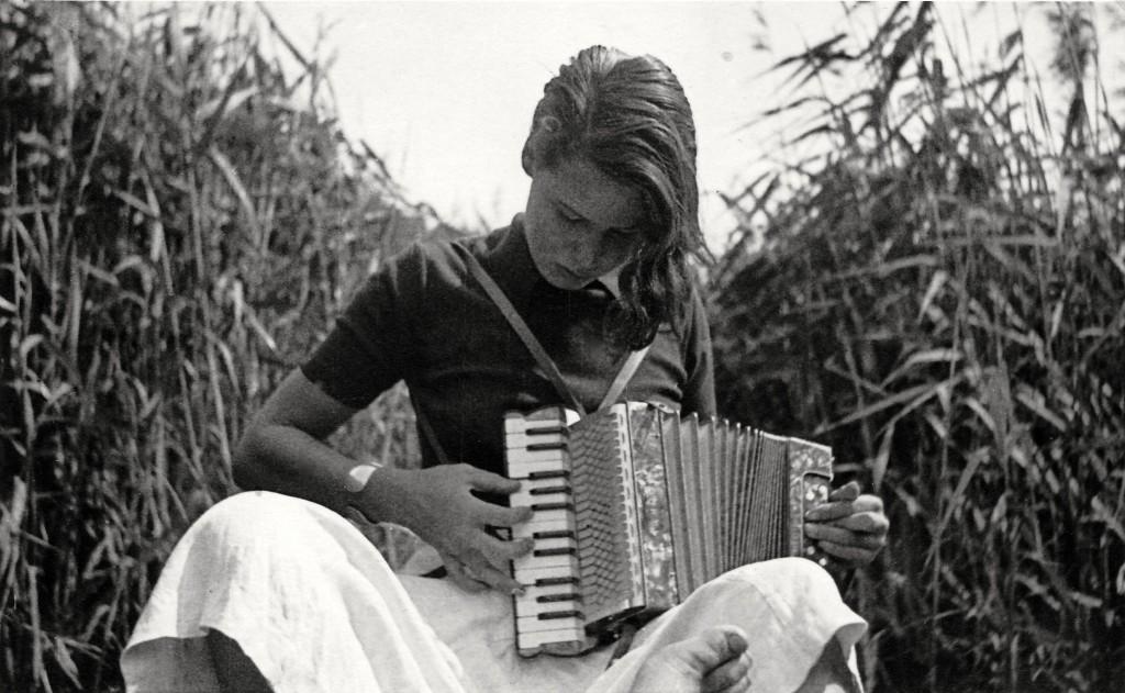 Ausflug an den Wannsee: Elisabeth Noelle im Sommer 1935