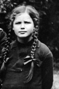 Portrait of Elisabeth Noelle (around 1925)