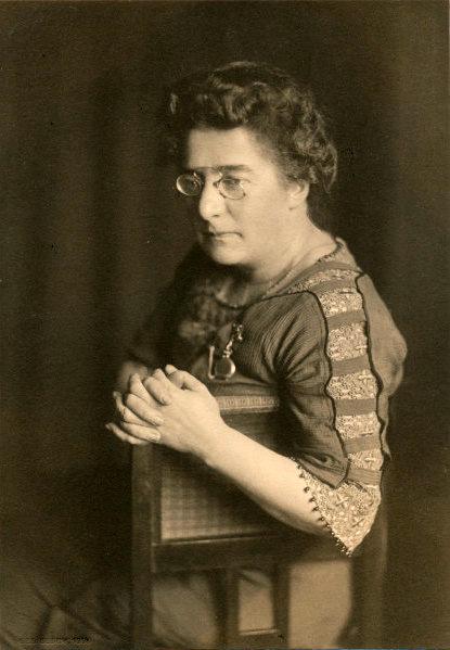Adeline Rittershaus 1914