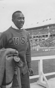 Berlin 1936: Vierfacher Olympiasieger Jesse Owens (Foto: Gisela Noelle)
