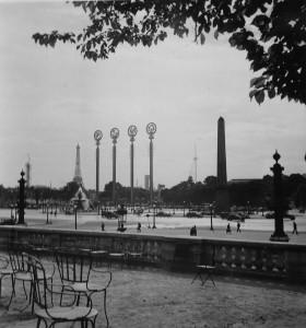 Place de la Concorde während der Weltausstellung (Foto: Elisabeth Noelle, 1937)