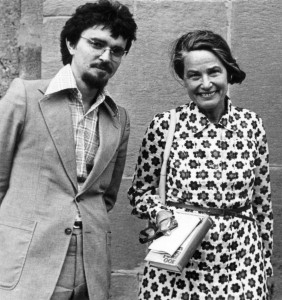 Hans Mathias Kepplinger und Elisabeth Noelle-Neumann in Tiflis (1975)