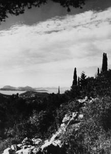 Landschaft in der Nähe von Dubrovnik (Foto: Elisabeth Noelle, 1936)